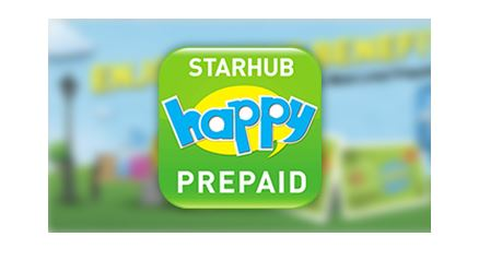 Travel Data Sim Card – Starhub Happy Prepaid Sim Card